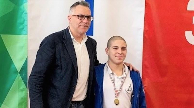 Massimo Resta oro a Roma 07-04-2019