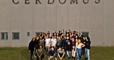 Il marketing internazionale visto in azienda: studenti dell'Oriani in visita alla Cerdomus