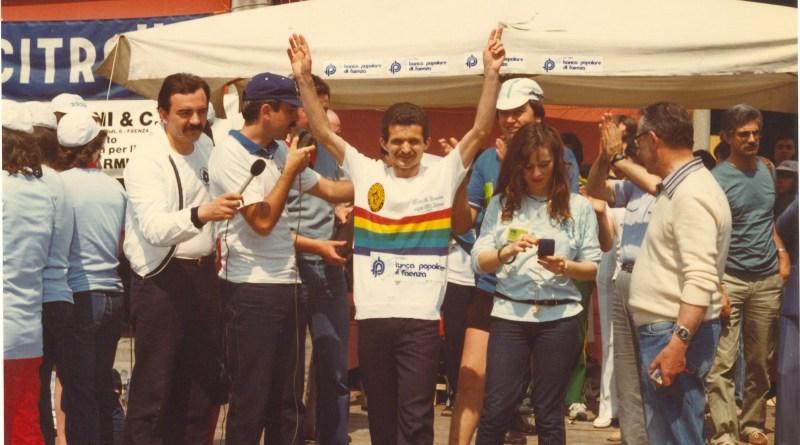 Vito Melito vincitore al Passatore 1981