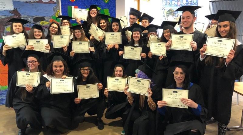 Consegna dei diplomi