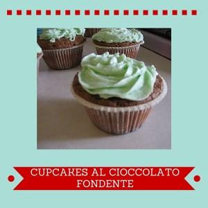 Cupcakes al cioccolato fondente