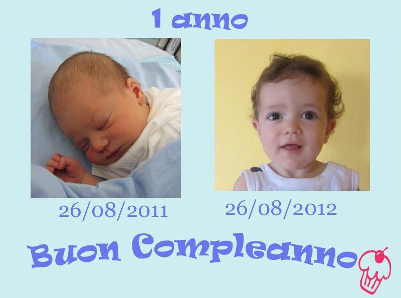 Primo compleanno di Matteo