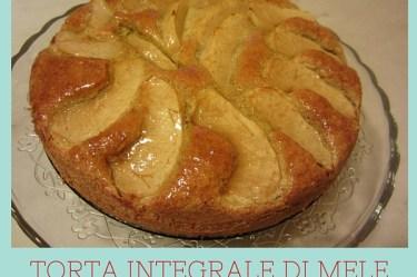 Torta integrale di mele al profumo di lime