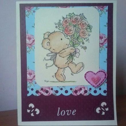 Una card per San Valentino
