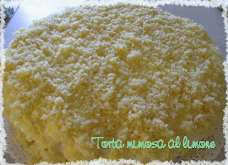International Women's Day:Torta mimosa al limone
