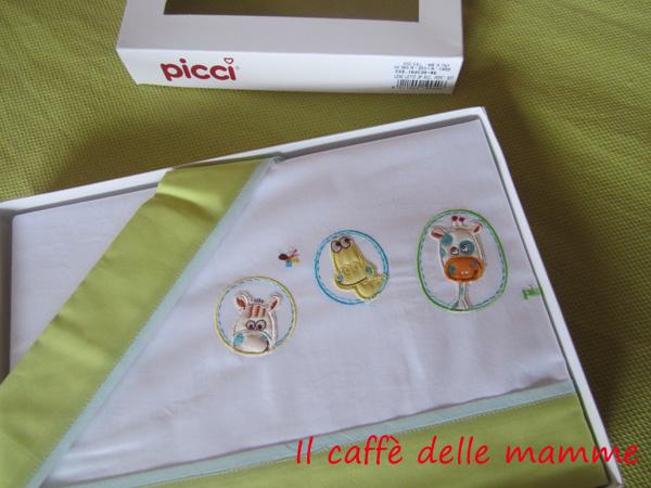 Recensioni:lenzuolino lettino Picci collezione Pepè