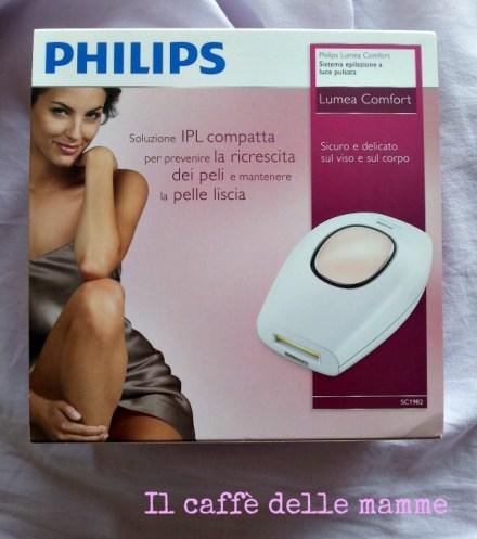 Epilazione a luce pulsata:Philips Lumea Comfort