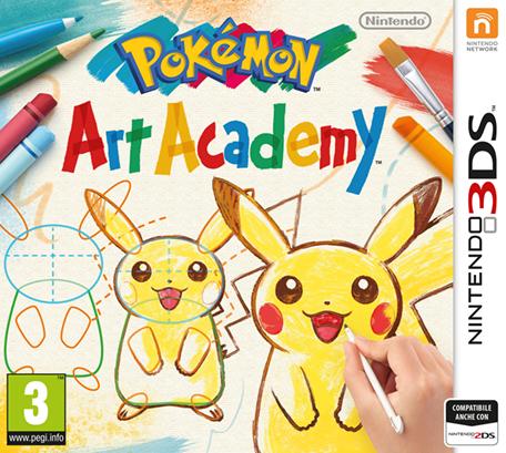 Sta arrivando Pokémon Art academy