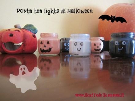 Video tutorial-Porta tea lights di Halloween