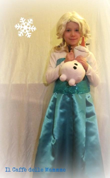 Costume di Elsa Frozen fai da te