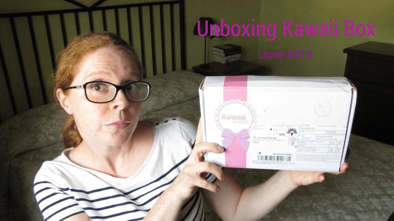 Apriamo insieme la Kawaii Box