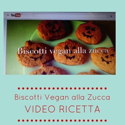 Biscotti vegan alla zucca – video ricetta