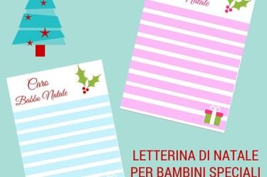 Letterina di Natale per bambini speciali