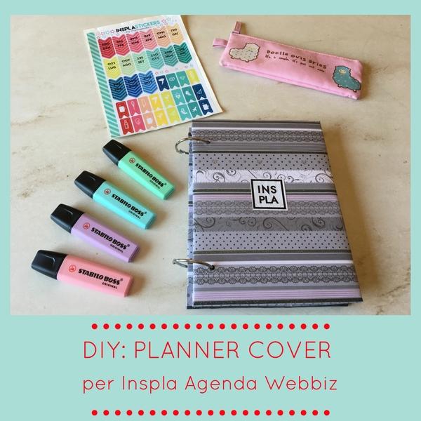 DIY: Planner Cover per Inspla Agenda Webbiz
