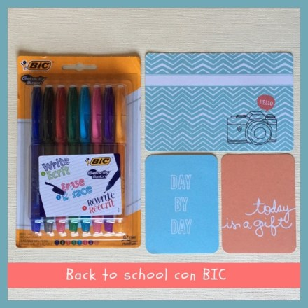 Back to school con BIC