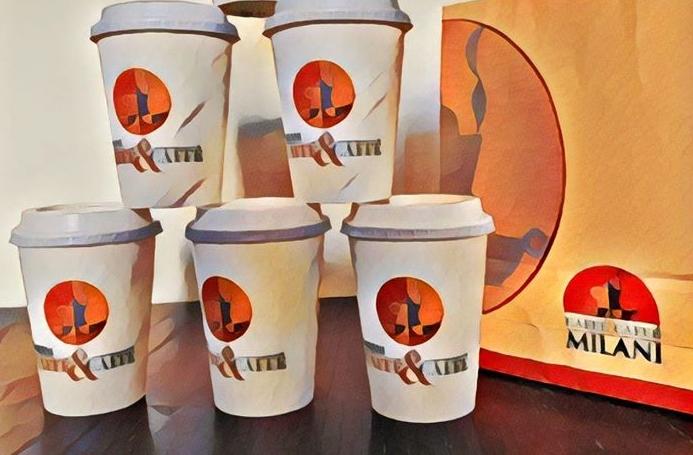 I BAR DI CAFFÈ MILANI ATTREZZATI PER L'ASPORTO IN SICUREZZA