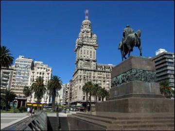 Una veduta di Montevideo, capitale dell'Uruguay