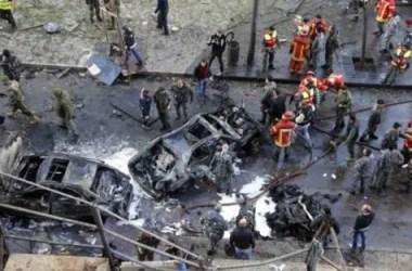 Prime immagini dal luogo dell'attentato.