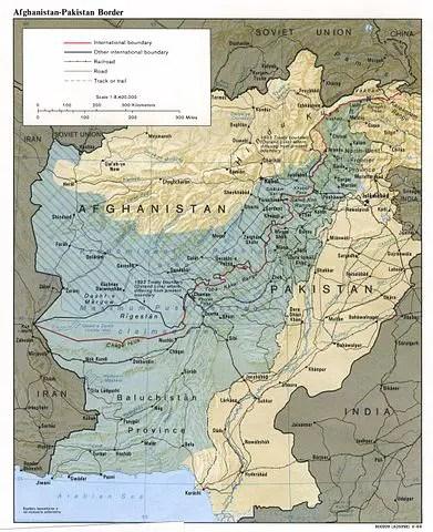 La Linea Durand: confine che unisce.