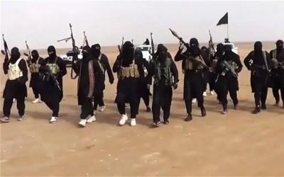 Miliziani dell'ISIS Image credits: The Telegraph