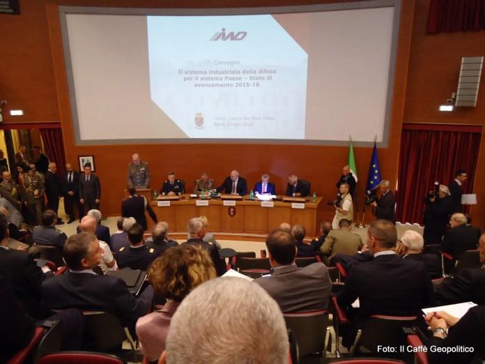 Fig.3 - Il convegno a margine dell'Assemblea generale AIAD ha fatto il punto su avanzamento e prospettive dell'industria nazionale del settore.