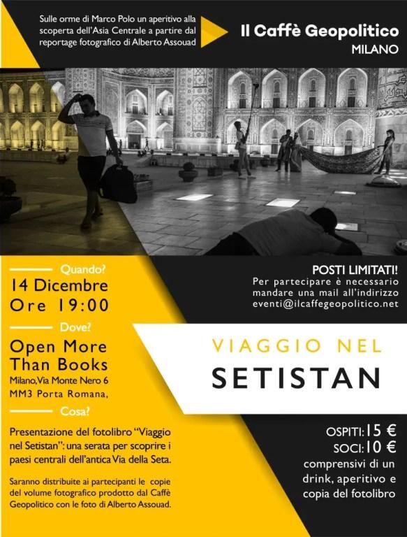 Viaggio nel Setistan - Milano 14 Dic 2018