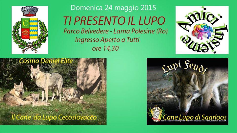 24 MAGGIO 2015 – Seminario- TI PRESENTO IL LUPO