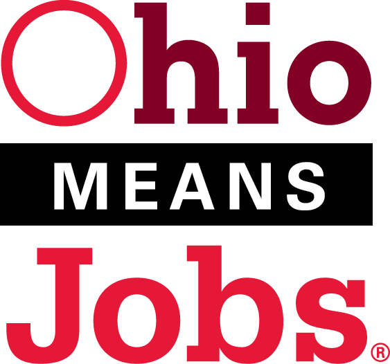 Ohio Means Jobs logo and link to the local OMJ website