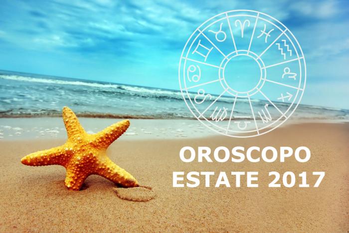 oroscopo estate 2017