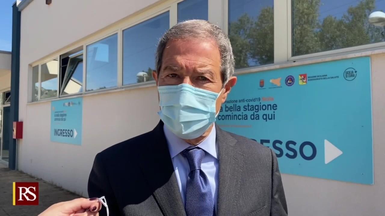 Vaccino, Musumeci inaugura nuovo hub regionale a Trapani - Il Cittadino  Online
