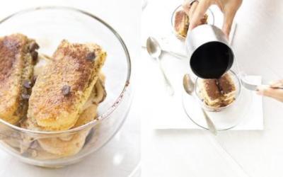 Un Fiorfiore di gelato. Tiramisù espresso.