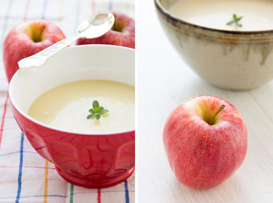 crema di mela coppia