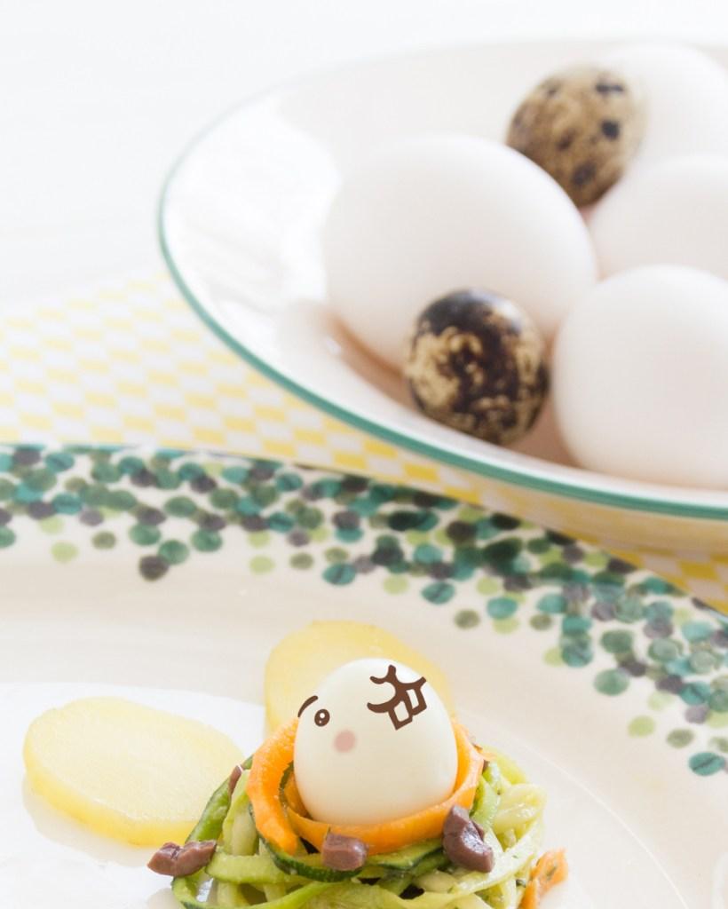 pasqua-coniglietti-uova-insalata-disegnata