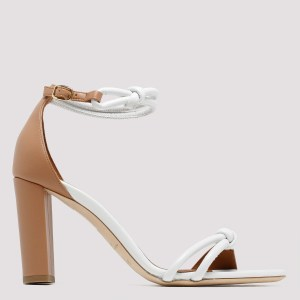 Malone Souliers - Brown And White Fenn Sandals N - (n) Shoes It@38