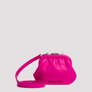 Balenciaga - Fuchsia Cloud Coin Purse Unica