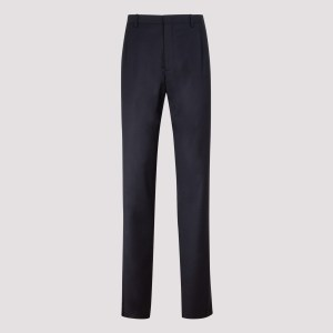 Giorgio Armani - Blue Stretch Wool Pants 50