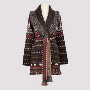 Alanui - Brown Lost In A Forest Cardigan Xs