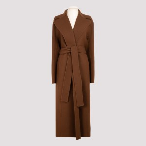 The Row - Malika Double Face Felted Wool Coat M