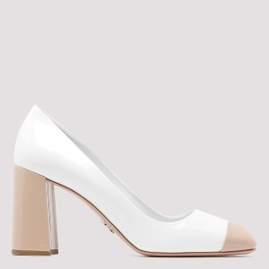 Prada - Prada Chunky Leather Pumps 37