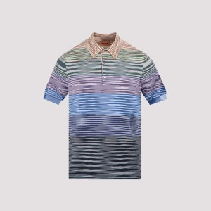 Missoni - Missoni Multicolor Cotton Polo 52