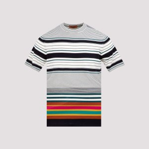 Missoni - Multicolor Cotton T-shirt 52