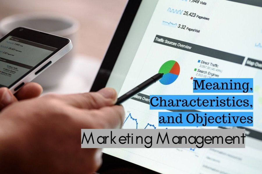 Marketing Management Meaning Characteristics and Objectives