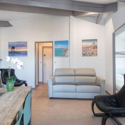 Location appartement ombrine à Saint Martin de Ré
