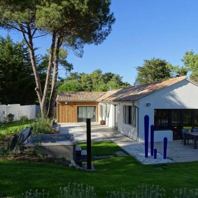 Location Villa Île de Ré - Ensoleillée - Jardin 1