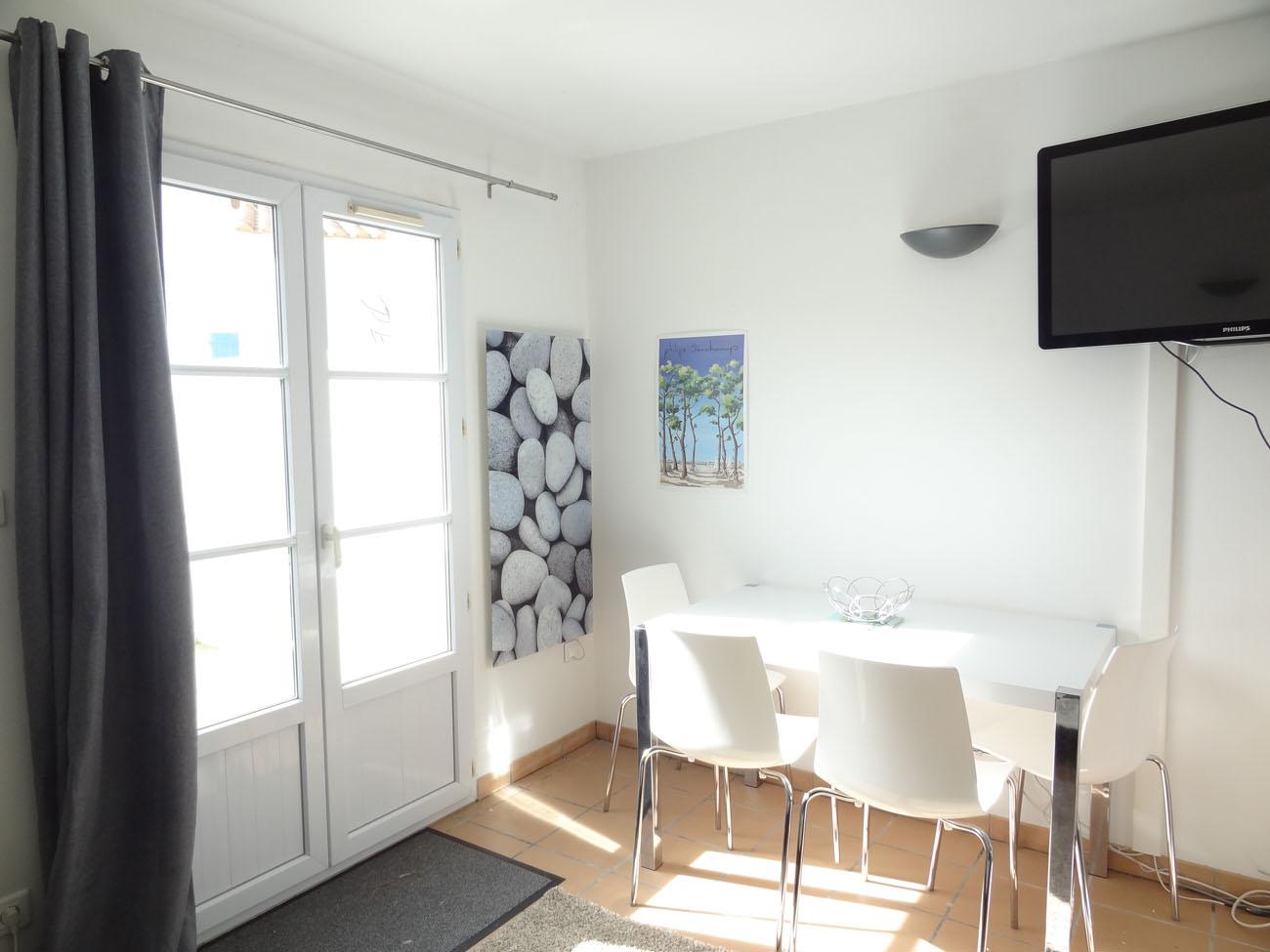 Location Appartement T3 Clapotis Ile de Ré - Coin repas