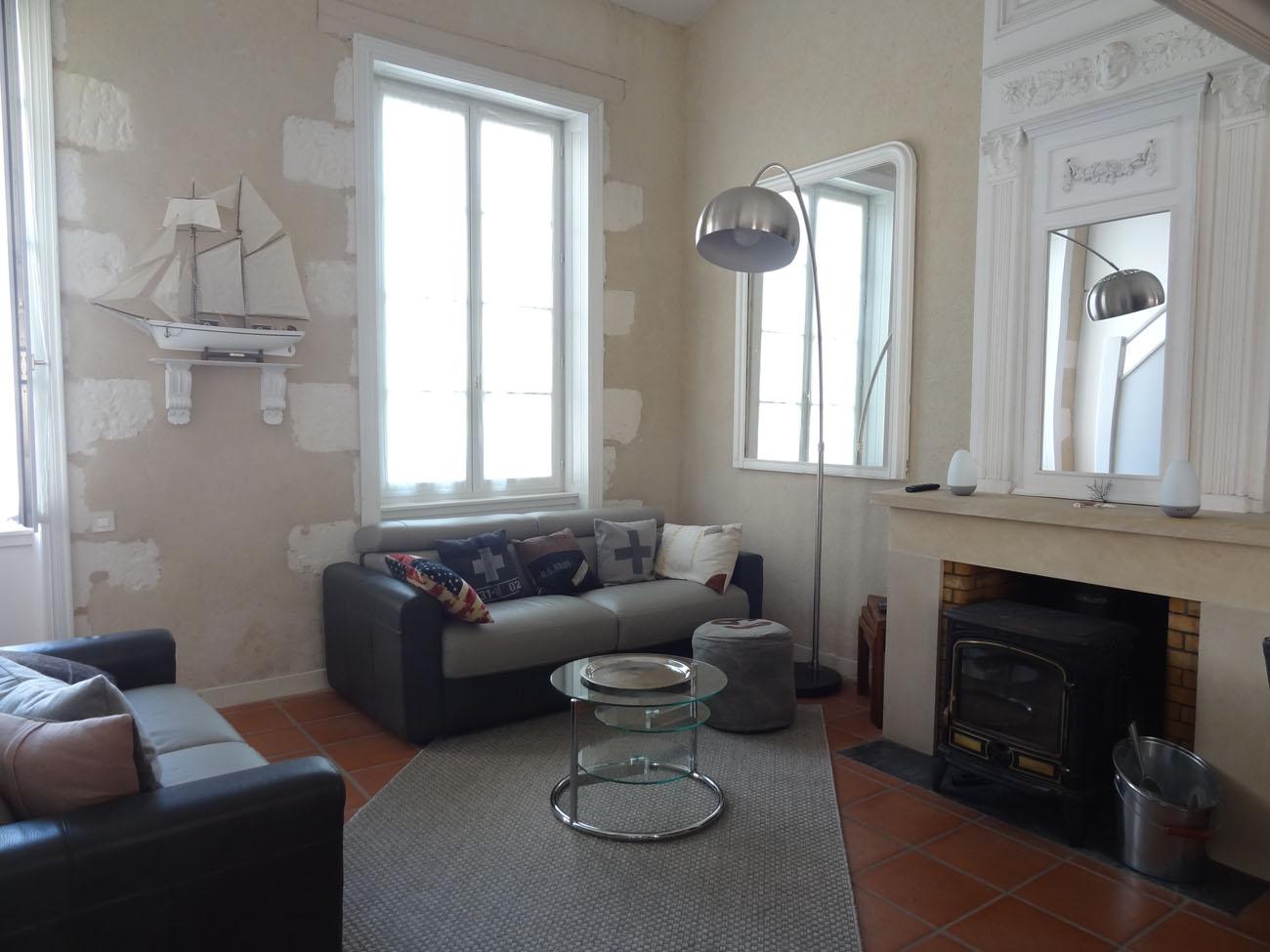 Location Appartement Ile de Ré - Fauvette - Salon