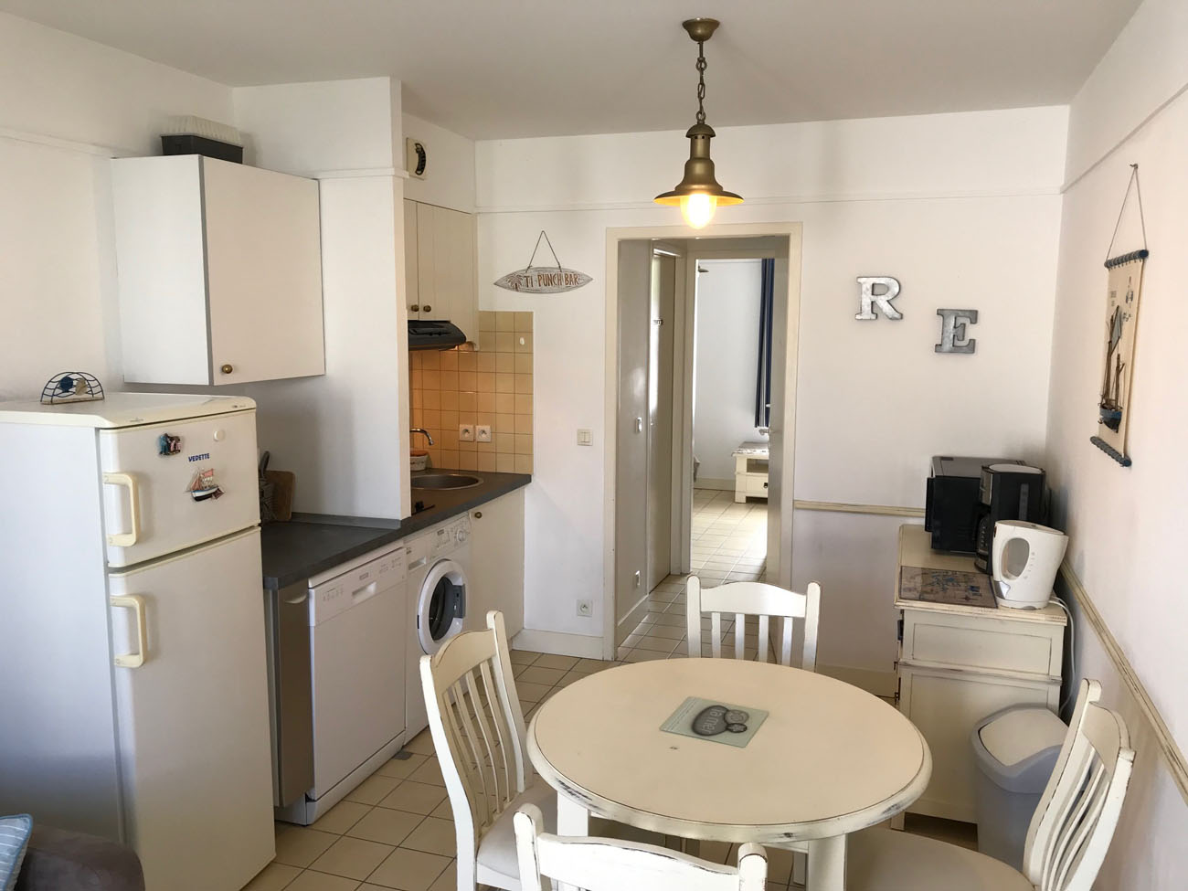 Location Appartement Ile de Ré - Jolie-Brise - Cuisine