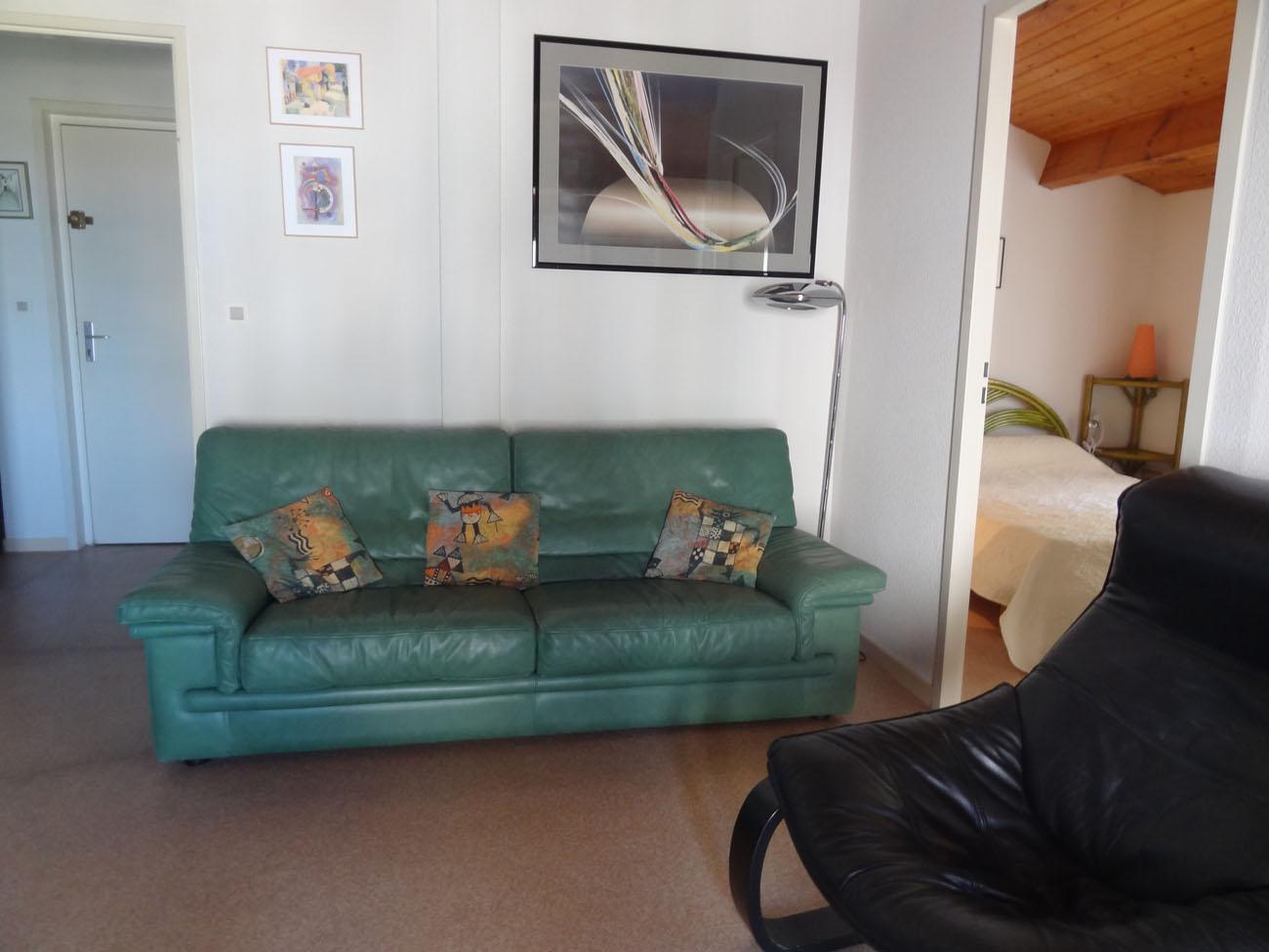 Location Appartement Ile de Ré - Ombrine - Canapé