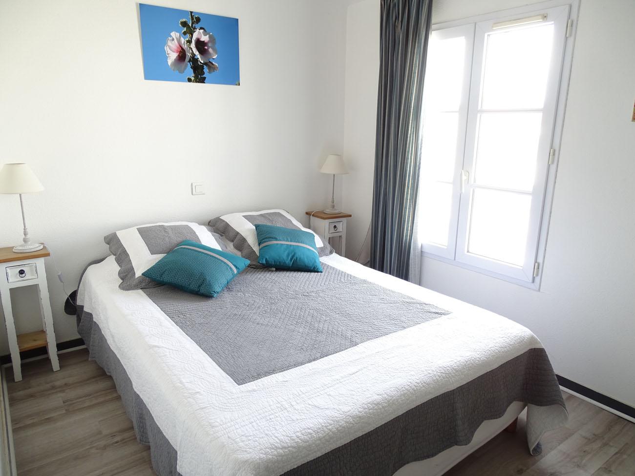 Location Appartement Ile de Ré - Solèse - Chambre 1