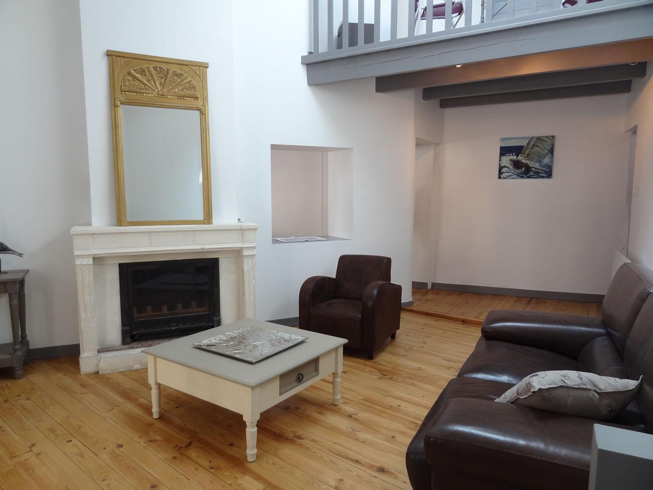 Location Appartement Ile de Ré - Sully - Salon 1